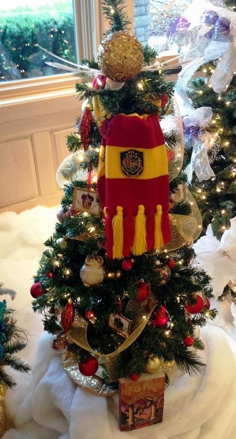 Harry Potter BlogHogwarts Navidad Arbol Ornamento (27)