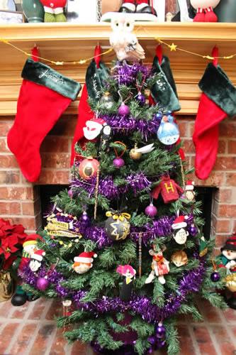 Harry Potter BlogHogwarts Navidad Arbol Ornamento (29)