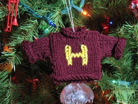 Harry Potter BlogHogwarts Navidad Arbol Ornamento (3)