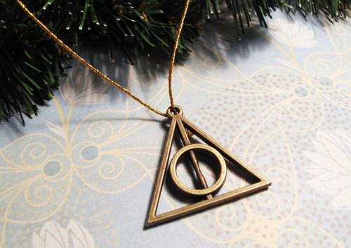 Harry Potter BlogHogwarts Navidad Arbol Ornamento (7)
