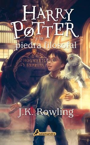 Harry Potter BlogHogwarts Nueva Portada Piedra Filosofal Salamandra