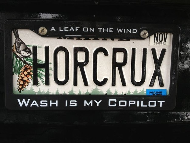 Harry Potter BlogHogwarts Placa de Auto (13)
