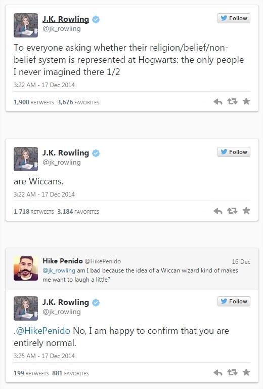 Harry Potter BlogHogwarts Twitter