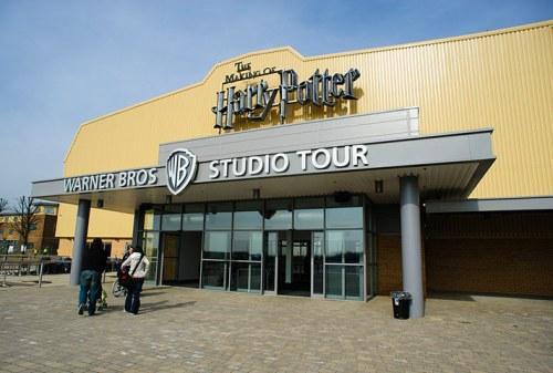 Exterior of The Warner Bros. Studio Tour London