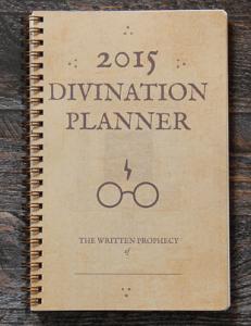agenda harry potter 2015