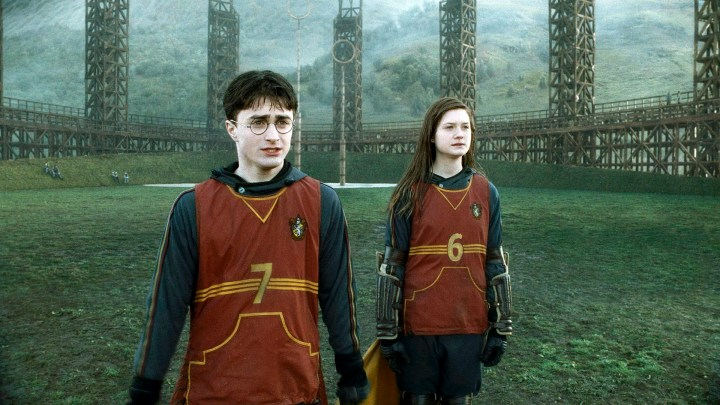 Harry Potter y Ginny Weasley - Quidditch