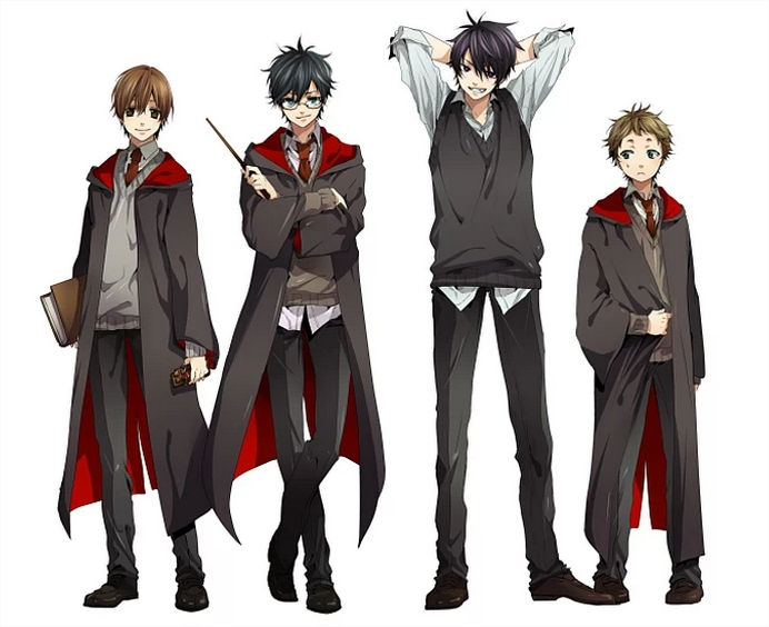 Harry Potter BlogHogwarts Anime (2)
