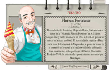 Florean Fortescue – Mago del Mes Febrero