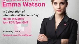 Próxima Conferencia de Emma Watson sobre la Igualdad de Género