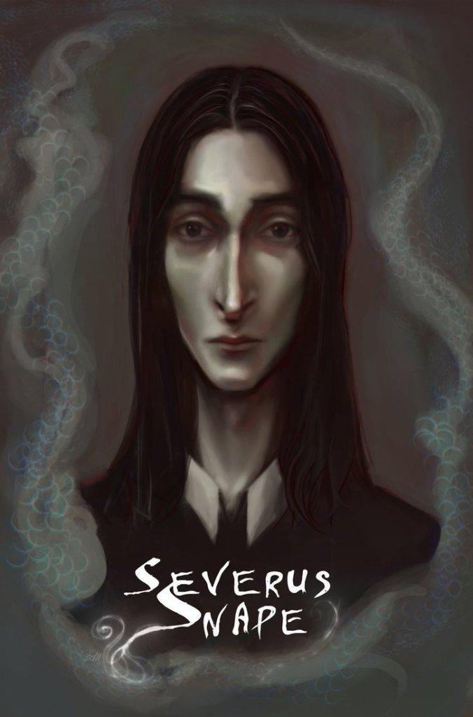 Harry Potter BlogHogwarts Fan Art Severus Snape (19)