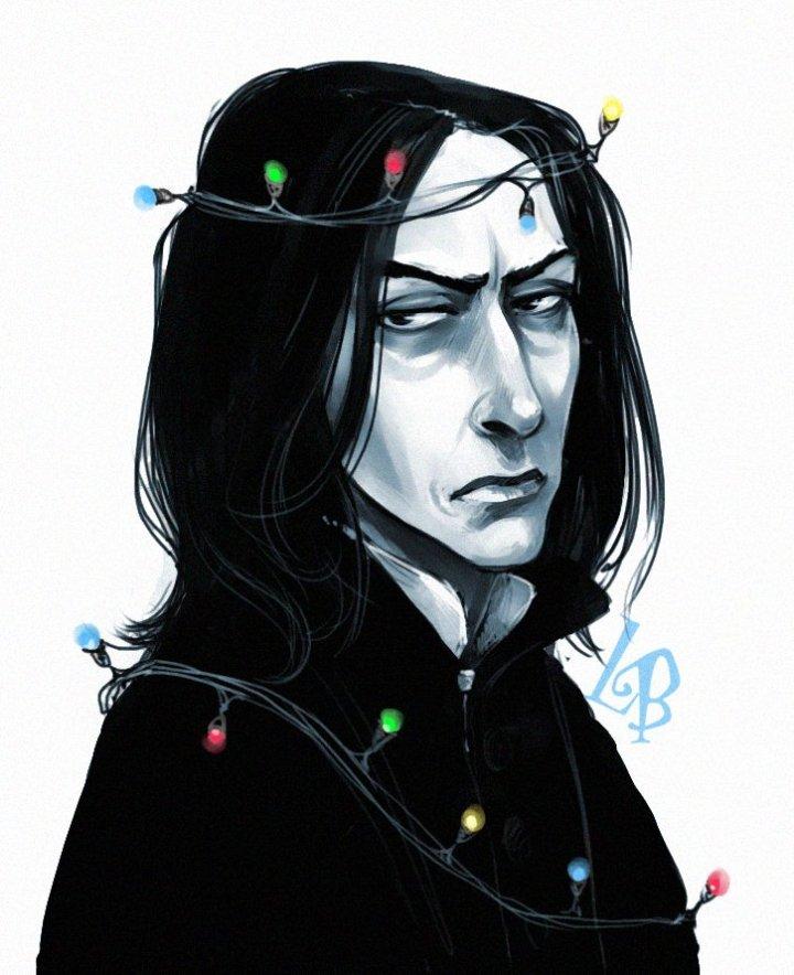 Harry Potter BlogHogwarts Fan Art Severus Snape (20)