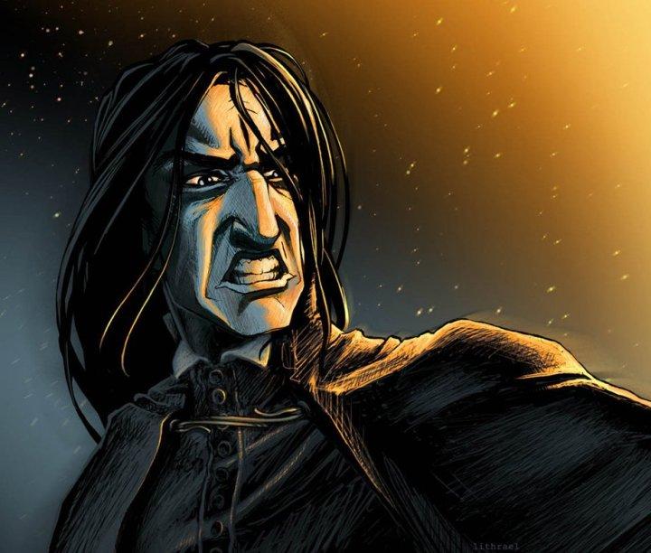 Harry Potter BlogHogwarts Fan Art Severus Snape (23)