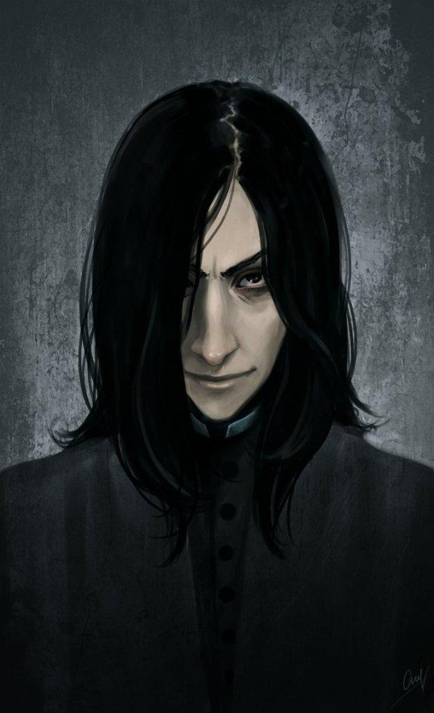 Harry Potter BlogHogwarts Fan Art Severus Snape (24)