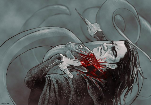 Harry Potter BlogHogwarts Fan Art Severus Snape (25)