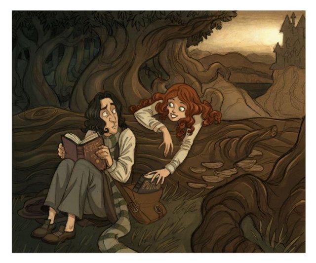 Harry Potter BlogHogwarts FanArt Severus Snape (3)