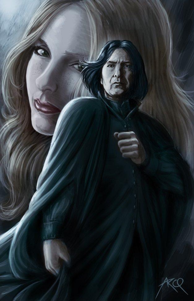 Harry Potter BlogHogwarts FanArt Severus Snape (9)