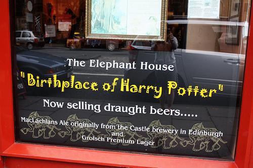 Harry Potter BlogHogwarts JK Rowling Edimburgo 2