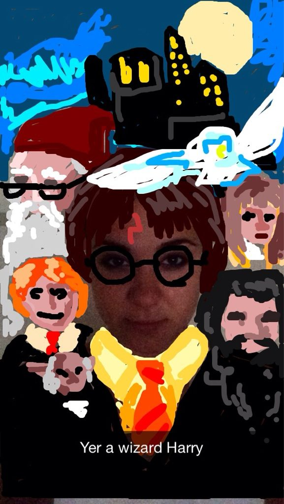 Harry Potter BlogHogwarts Snapchat (3)