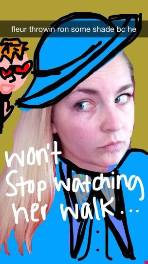 Harry Potter BlogHogwarts Snapchat (5)
