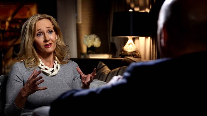 Video: JK Rowling Habla del Fracaso, sus Sueños con Albus Dumbledore, y más!