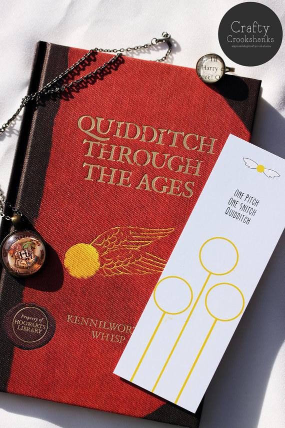Harry Potter BlogHogwarts Marcador Libro (13)