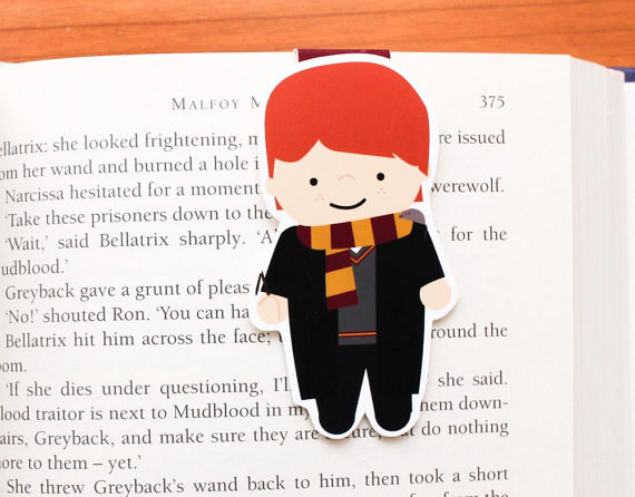 Harry Potter BlogHogwarts Marcador Libro (3)