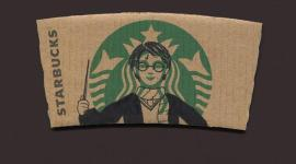 Harry Potter en Starbucks