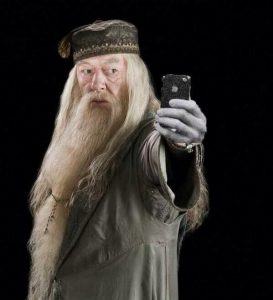 selfie dumbledore