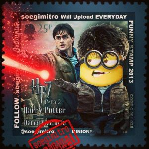 minion harry potter 7
