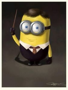 minion harry potter