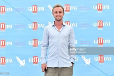 Tom Felton recibió premio en el Festival Giffoni