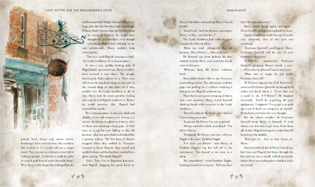 Harry Potter BlogHogwarts Piedra Filosofal Ilustrado 03