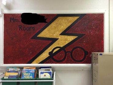 Una profesora convierte su clase en un escenario mágico de Harry Potter