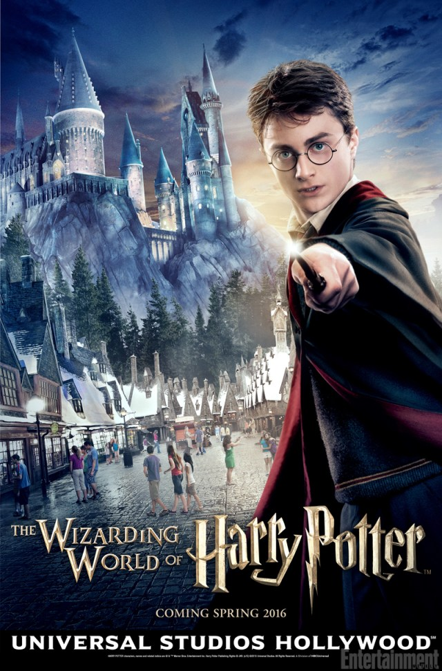 poster universal hollywood harry potter