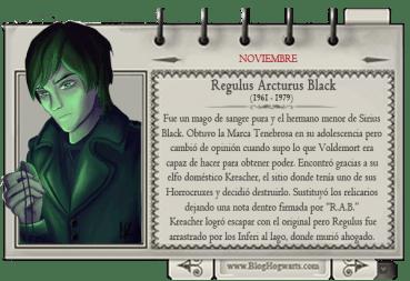 Regulus Black – Mago del Mes Noviembre