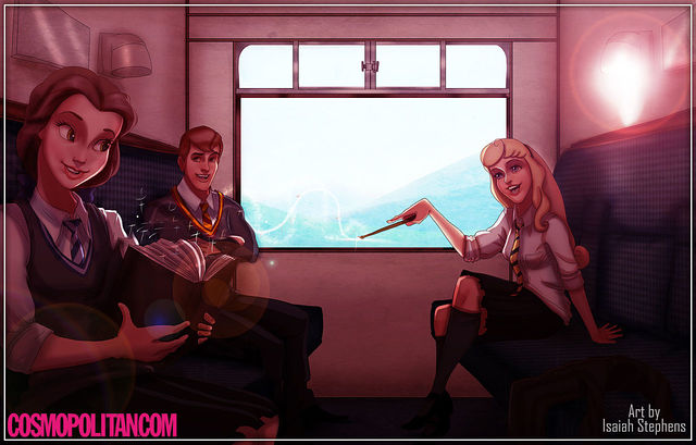 disney+characters+in+hogwarts+06