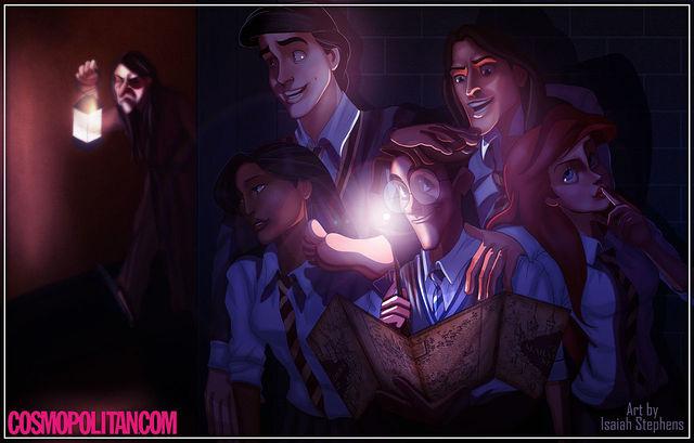 disney+characters+in+hogwarts+09