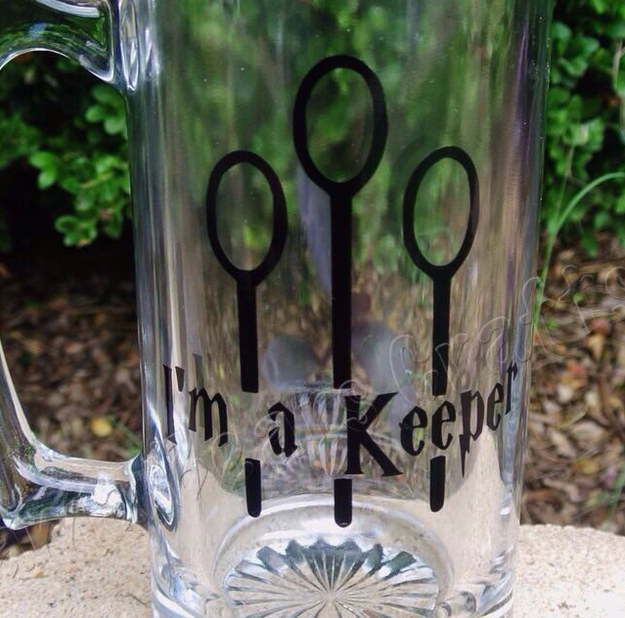 vaso cerveza quidditch