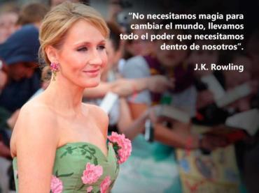 16 frases de JK Rowling que te inspiran a ser mejor cada día