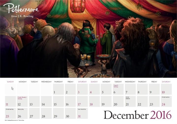 Harry Potter BlogHogwarts Pottermore Calendario 2016 (13)
