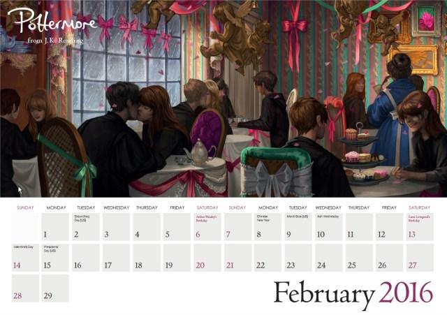 Harry Potter BlogHogwarts Pottermore Calendario 2016 (3)