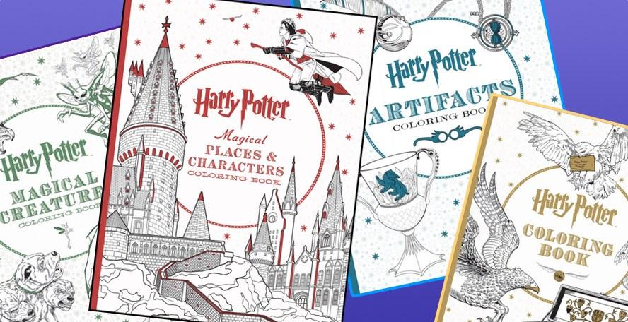 Scholastic publicará otros 3 libros para colorear oficiales de Harry ...
