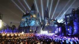 Primer vistazo al parque de Harry Potter de Hollywood en 360 grados