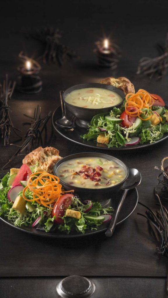 Soup/Salad combo, $9.49 (Fto: Gary Moss)