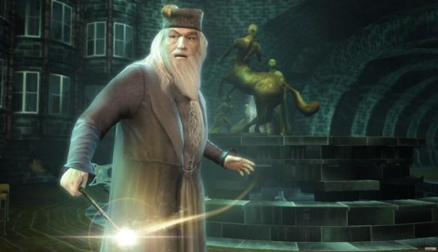 albus dumbledore videojuego