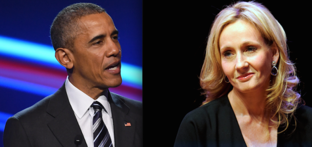 JK Rowling Obama BlogHogwarts