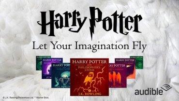 Audiolibros de Harry Potter: 1 millón de descargas en sus primeros 4 meses en 'Audible.com'