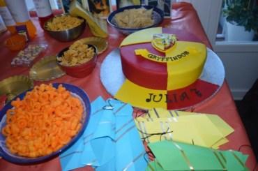 Cómo hacer una fiesta infantil de Harry Potter con poco dinero