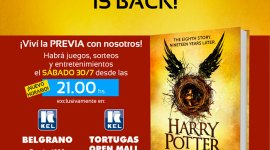 Asiste al lanzamiento a medianoche de 'Harry Potter and the Cursed Child' en Buenos Aires!