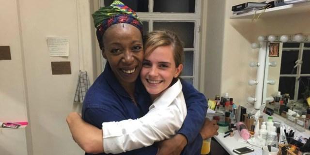 Encuentro de las Hermione: Emma Watson y Noma Dumezweni